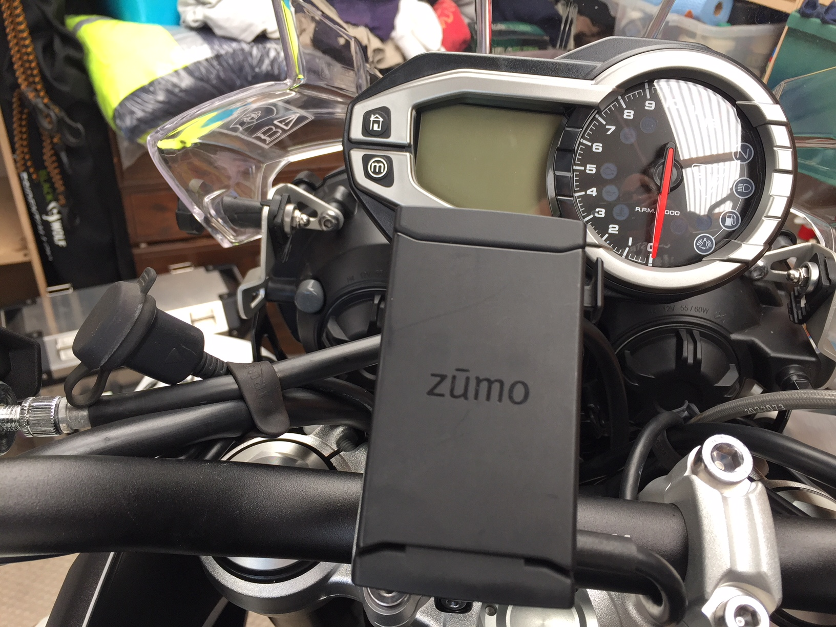 Garmin Zumo 590 Wiring And Install